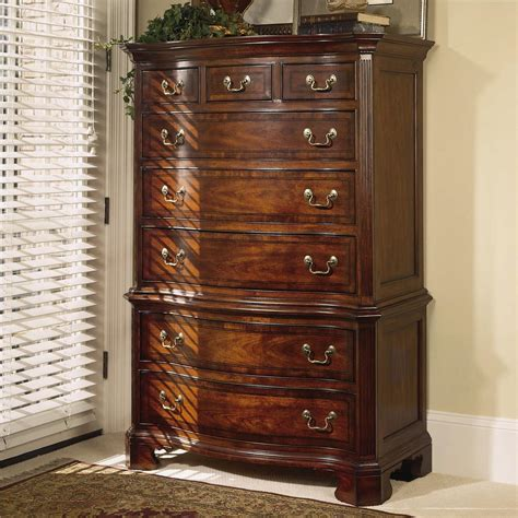 20 Inch Wide Chest Of Drawers 8 Drawer Dresser Chest By American Drew Wolf And