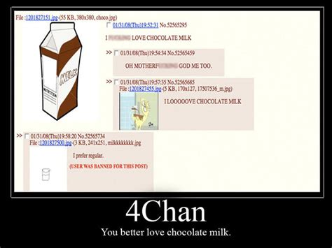4 Chan Memes - chocolate milk threads know your meme