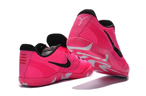 pink basketball shoes nike 11 em breast cancer pink black basketball shoes