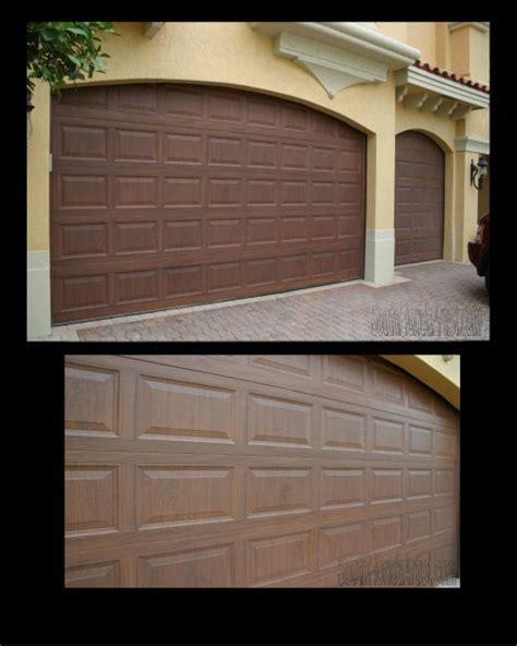 Make Metal Garage Door Look Like Wood For The Home Metal Garage Doors That Look Like Wood