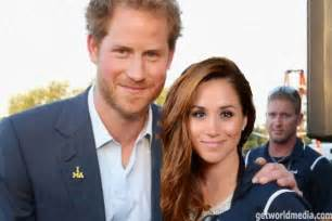 Meghan Markel And Prince Harry Meghan Markle Will Accompany Prince Harry Match Rugby
