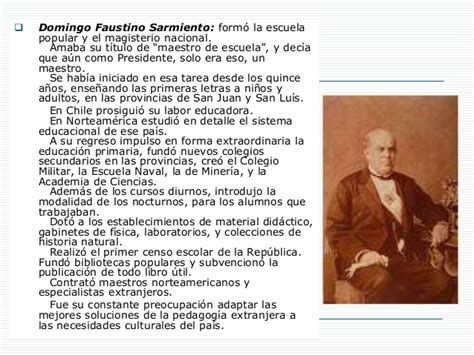 biografia resumida de sarmiento historia educaci 243 n argentina 1a