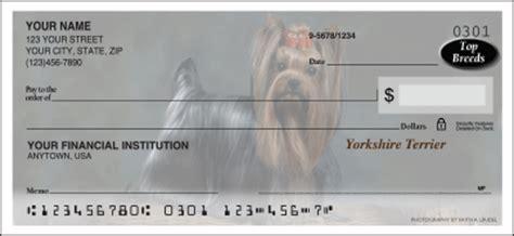 yorkie personal checks yorkie checks yorkie personal checks designerdogchecks