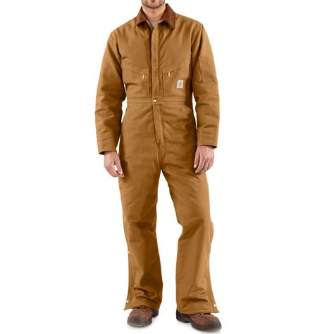 Carhartt Quilt Lined Duck Coveralls by Carhartt Quilt Lined Duck Coveralls For 50325