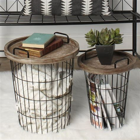 goodyear  piece nesting table   aaaliving