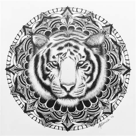 tiger mandala coloring pages tiger mandala related keywords tiger mandala