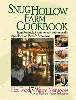 snug hollow farm bed and breakfast snug hollow farm cookbook butler books online store