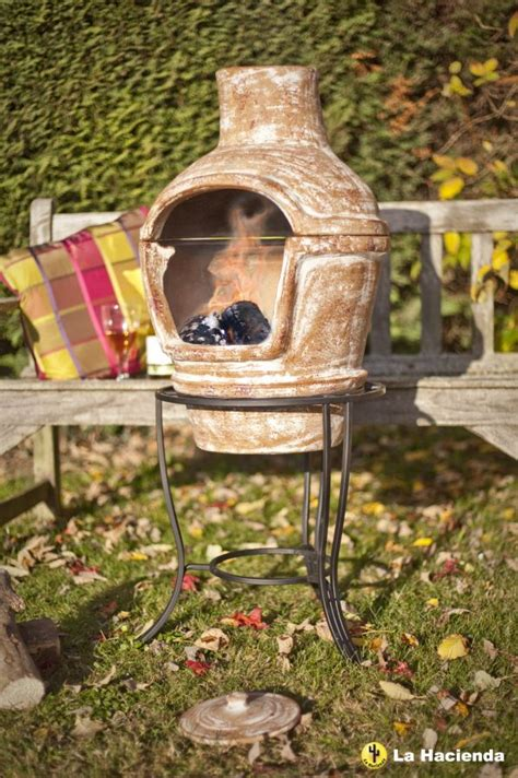 chiminea oven clay pizza oven in terracotta with pizza and stand 163