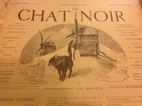 le noir encyclopaedia books illustrated books rodolphe salis le chat noir 1893