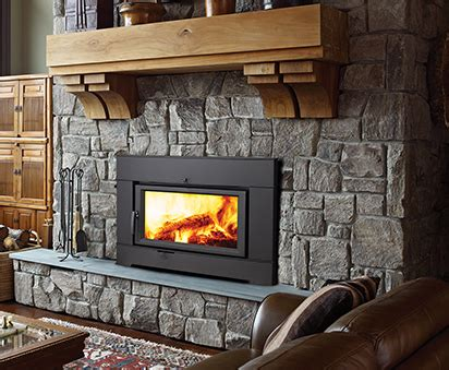 benefits of installing a wood burning fireplace insert