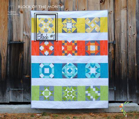Block Of The Month Block Of The Month Quilt A 2015