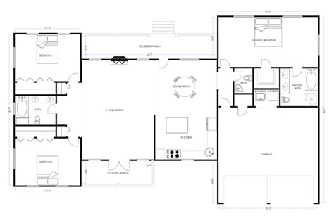 draw floor plans try free and easily draw floor plans cad drawing software easy cad drafting try smartdraw free