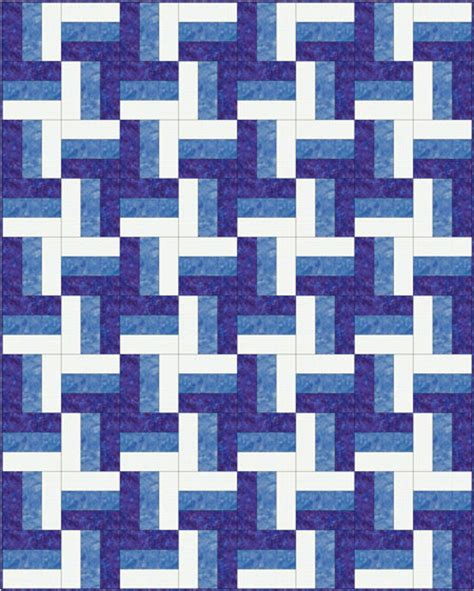 Fence Rail Quilt Pattern by Rail Fence Quilt Pattern Designs Easy Beginner Quilt Pattern