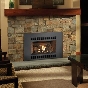 radiant plus large gas fireplace insert avalon firestyles