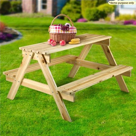 average picnic table size size wooden picnic table sales
