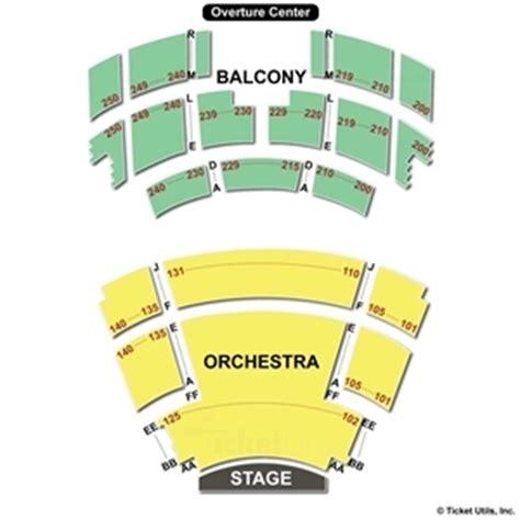 overture center seating overture center seating charts