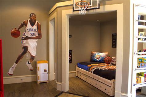 Okc Thunder Bedroom Decor by Kid S Okc Thunder Room Eclectic Oklahoma City By Vici