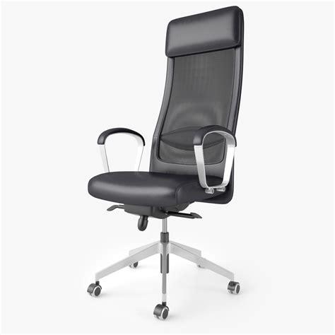 ikea markus chair 3d ikea markus office chair model