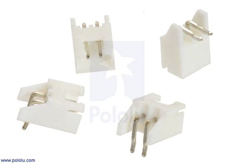 Connector Xh 2 Pin Untuk Kabel 2 5 mm jst xh style shrouded connector 2 pin right angle extended 4 pack australia