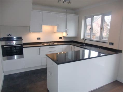 contemporary kitchen worktops black pearl granite worktops modern kitchen worktops