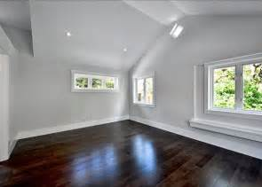 Floors White Trim Light Gray Walls Summer