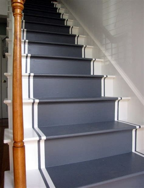 Painted Stairs Design Ideas 20 Fancy Painted Stair Runners Ideas
