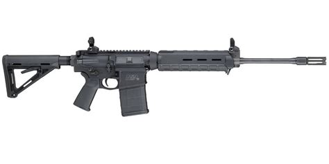 Smith & Wesson M&P-10 308 Semi-Auto Rifle With Magpul ... Ar 15 Iron Sights Review