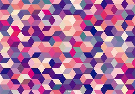 Abstract Abstract Background abstract colored cubes background free vector