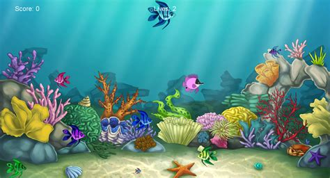 coral reef by jengineerr on deviantart hungry fish game by alkaline00 on deviantart