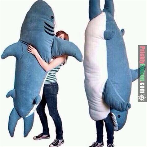 oversized shark pillow cushions sleeping bags christmas preorder new chumbuddy great white shark edition shop