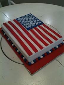 amerikanischer kuchen american flag cake cakecentral