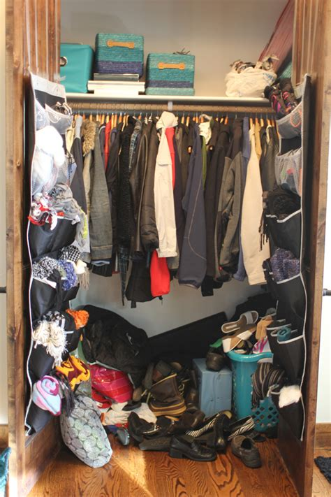 coat closet organizing with style coat closet part 1 the before my