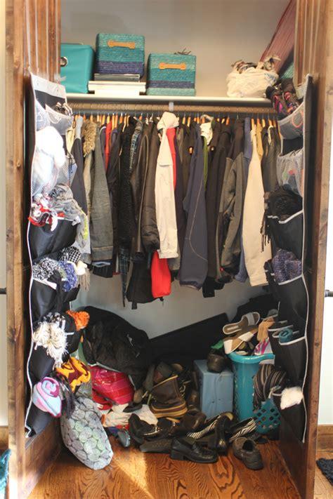 Coat Closet Organizing With Style Coat Closet Part 1 The Before My