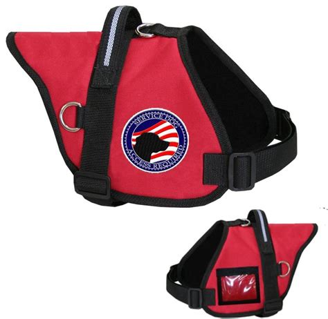 puppy vest padded service vest with id holder