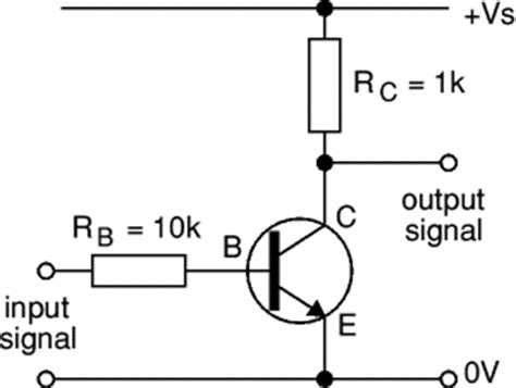 transistor not gate inverter circuit