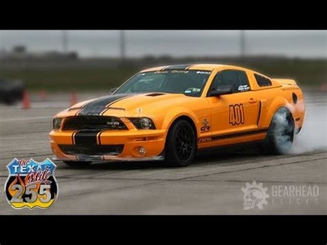 accident recorder 2007 ford gt500 regenerative braking worlds fastest mustang gt500 super snake 220 8 mph texas mile gearhead flicks youtube