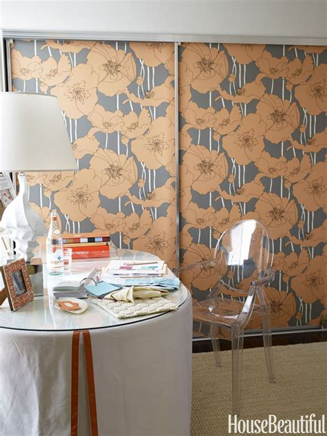 ways to get creative with wallpaper