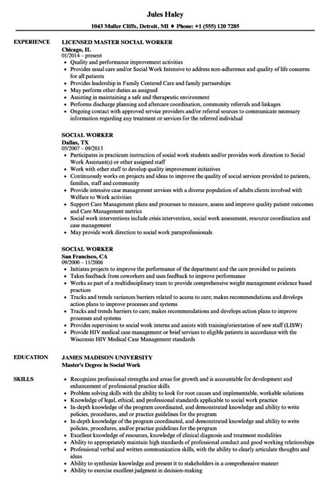 16 social work resume objective examples cover latter sample