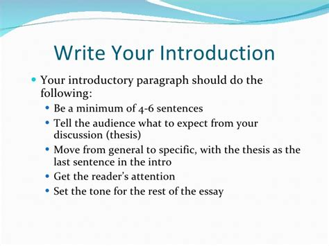 what to write in the introduction of a research paper writing the draft