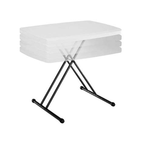 20 x 40 folding table lifetime 30 x 20 in personal adjustable height folding