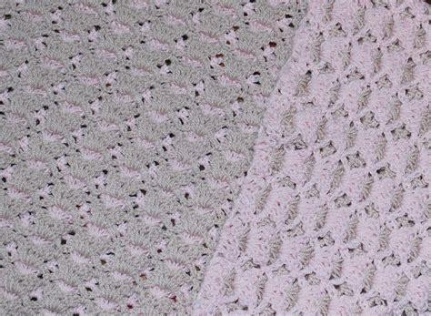 free pattern baby blanket free pattern gorgeous reversible shell baby blanket