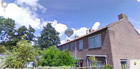 google house view google street view captures a ufo hovering over a house in holland google street