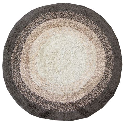 Circle Bathroom Rugs 100 Cotton Bath Mats Bathroom Washable Mat Towel Like Ebay
