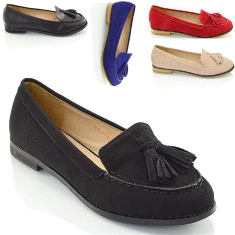 womens loafers new tassel loafers womens casual vintage flats work