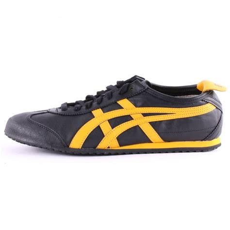 Asics Onitsuka Mexico 67 onitsuka tiger asics mexico 66 mens trainers in black gold