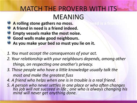 meaning in using proverbs in the classroom презентация онлайн