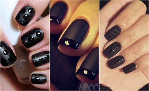 matte look nail how to combine matte and glossy nail into one
