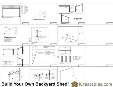 open shed plans 8x16 lean to shed plans 8x16 lean to open side shed plans