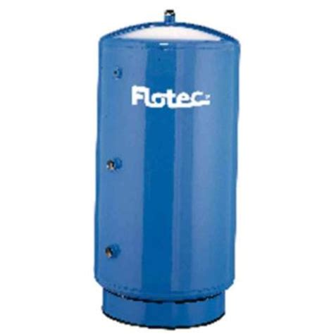flotec 42 gal 20 in d vertical epoxy lined water tank