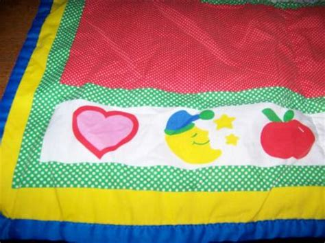 Baby Activity Quilt by Vintage Playskool Fold N Go Baby Activity Blanket Mat